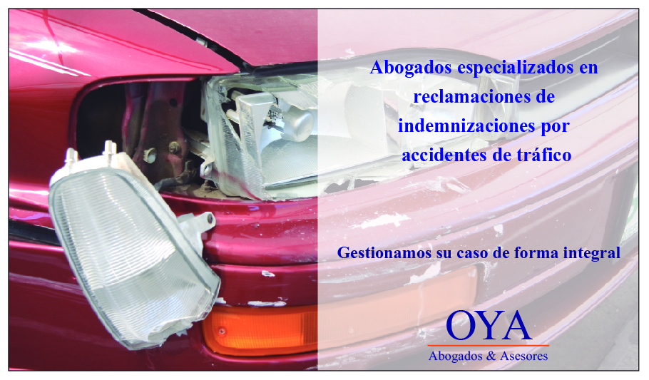 indemnizaciones accidentes de tráfico oya abogados