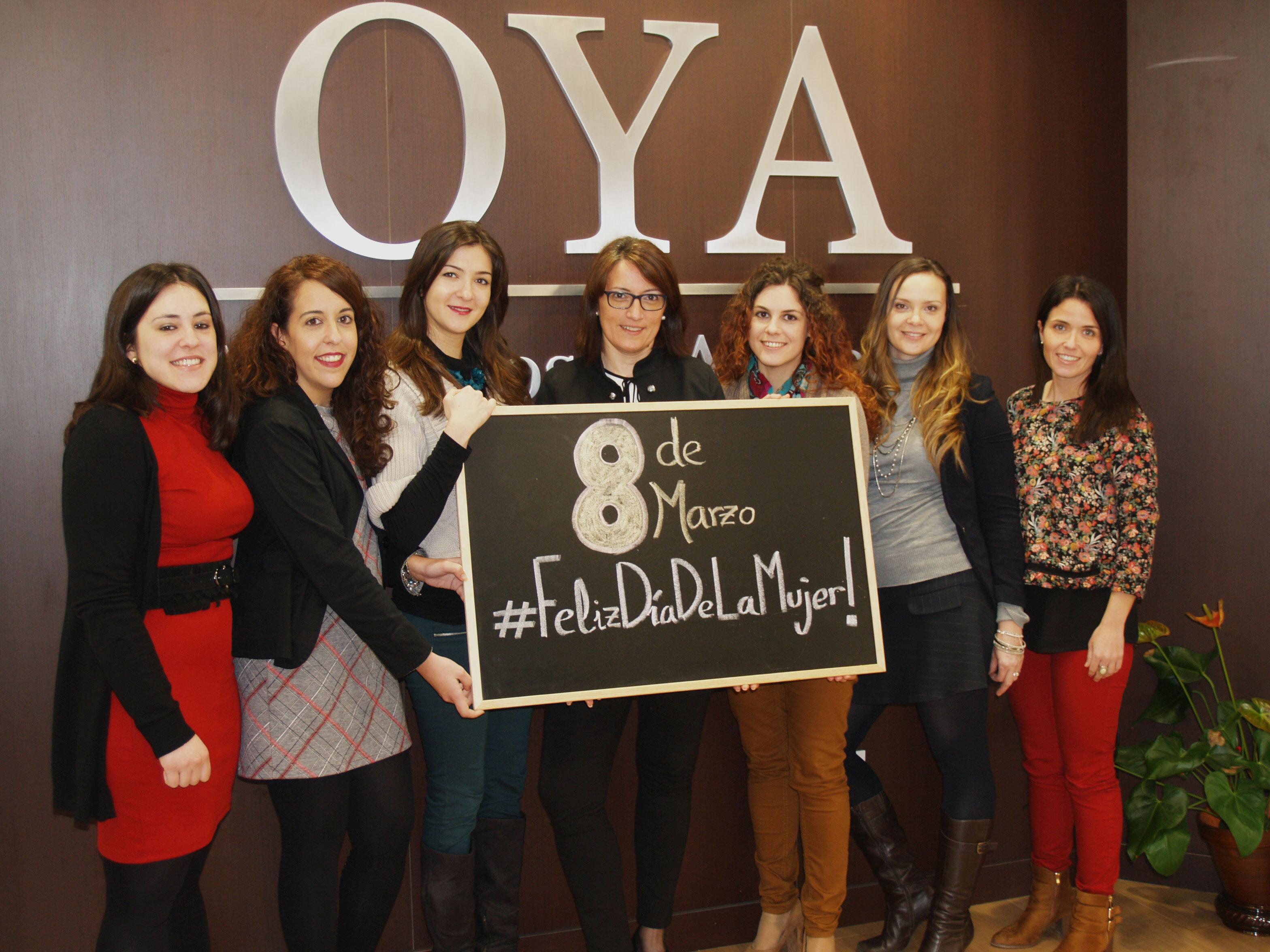 Día Internacional de la Mujer Oya Abogados & Asesores