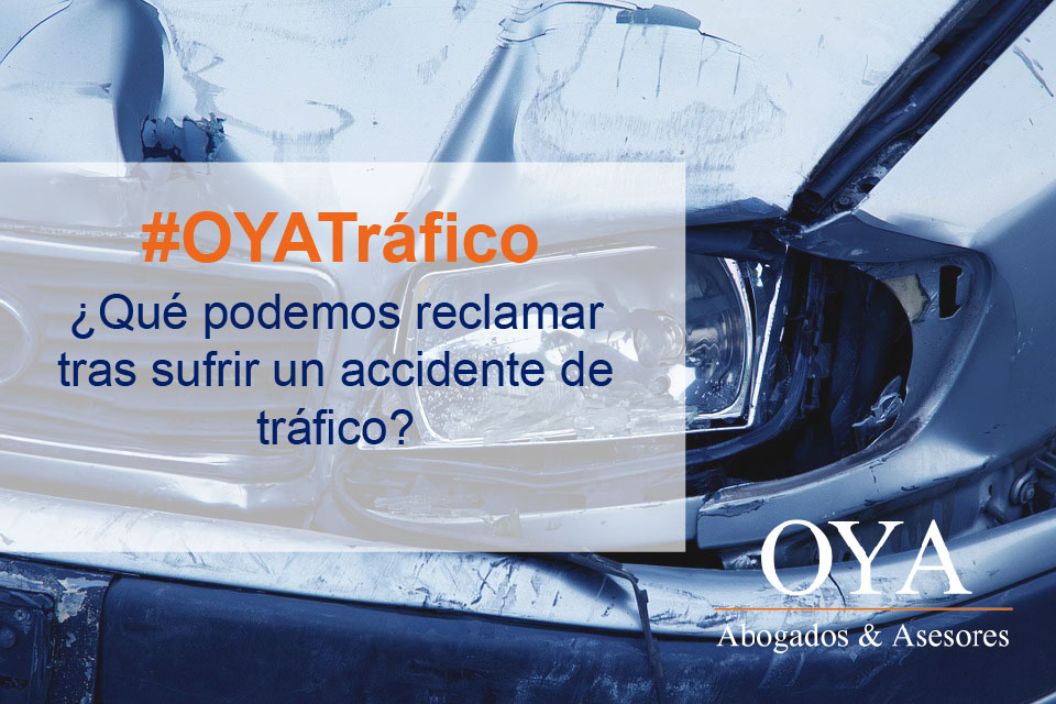 RECLAMACION ACCIDENTE DE TRAFICO